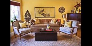Memanfaatkan Dominasi Warna Kuning untuk Ruangan