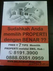 Jual Rumah Bukit Palma AA, Citraland, Surabaya