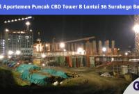 Jual Apartemen Puncak CBD Tower B Lantai 36 Surabaya Barat