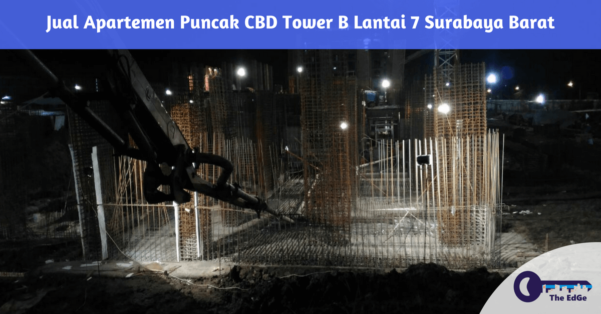 Jual Apartemen Puncak CBD Tower B Lantai 7 Surabaya Barat