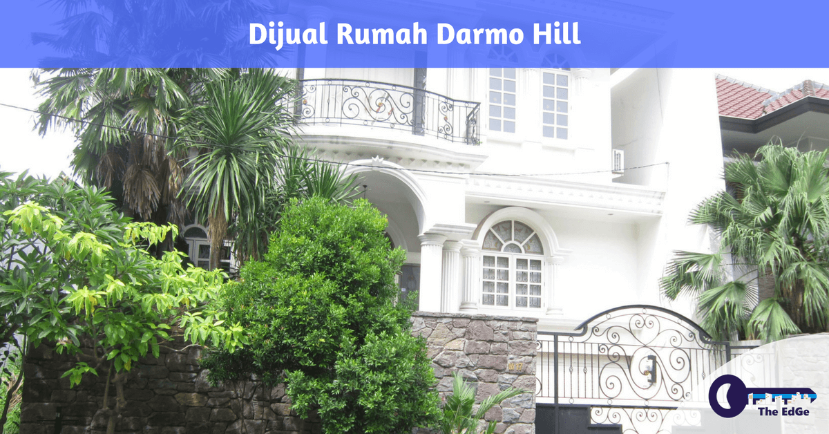 Dijual Rumah Darmo Hill The EdGe