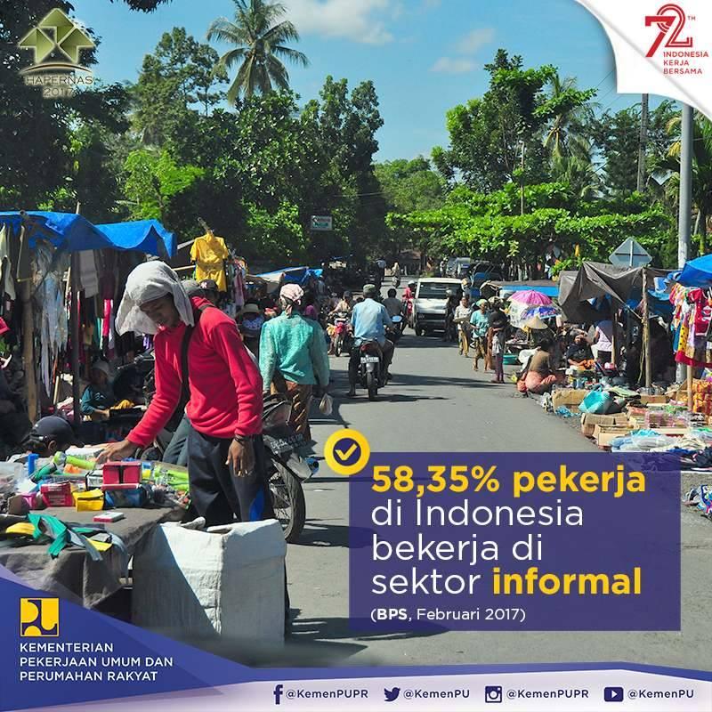 Data BPS tentang pekerja informal