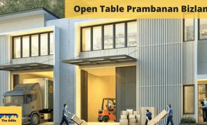Open Table Prambanan Bizland - BeliSewaRumah