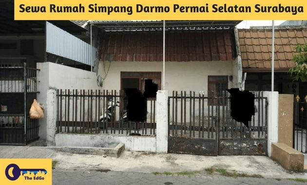 Sewa Rumah Simpang Darmo Permai Selatan Surabaya - BeliSewaRumah