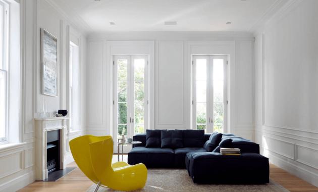 Desain ruang keluarga ruang tamu minimalis - belisewarumah