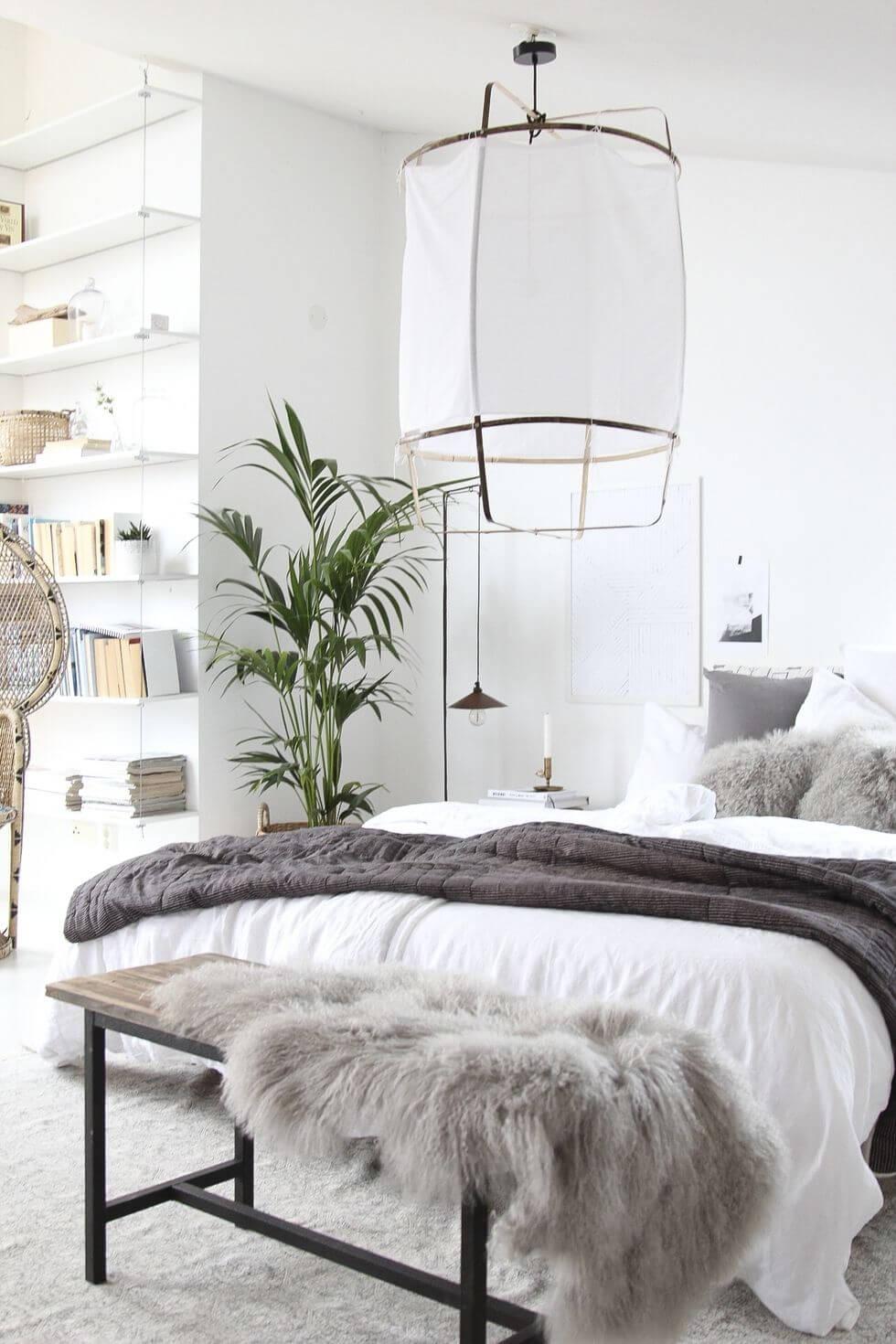 Desain kamar tidur Skandinavian - belisewarumah