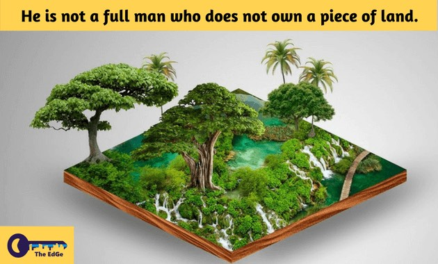 Pepatah Ibrani Tentang Tanah - BeliSewaRumah