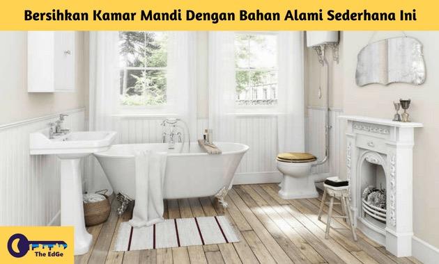 Bersihkan Kamar Mandi Dengan Bahan Alami Sederhana Ini - BeliSewaRumah