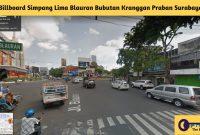 Billboard Simpang Lima Blauran Bubutan Kranggan Praban Surabaya - BeliSewaRumah