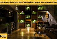 Contek Desain Rumah Toko (Ruko) Hijau Dengan Pencahayaan Alami - BeliSewaRumah