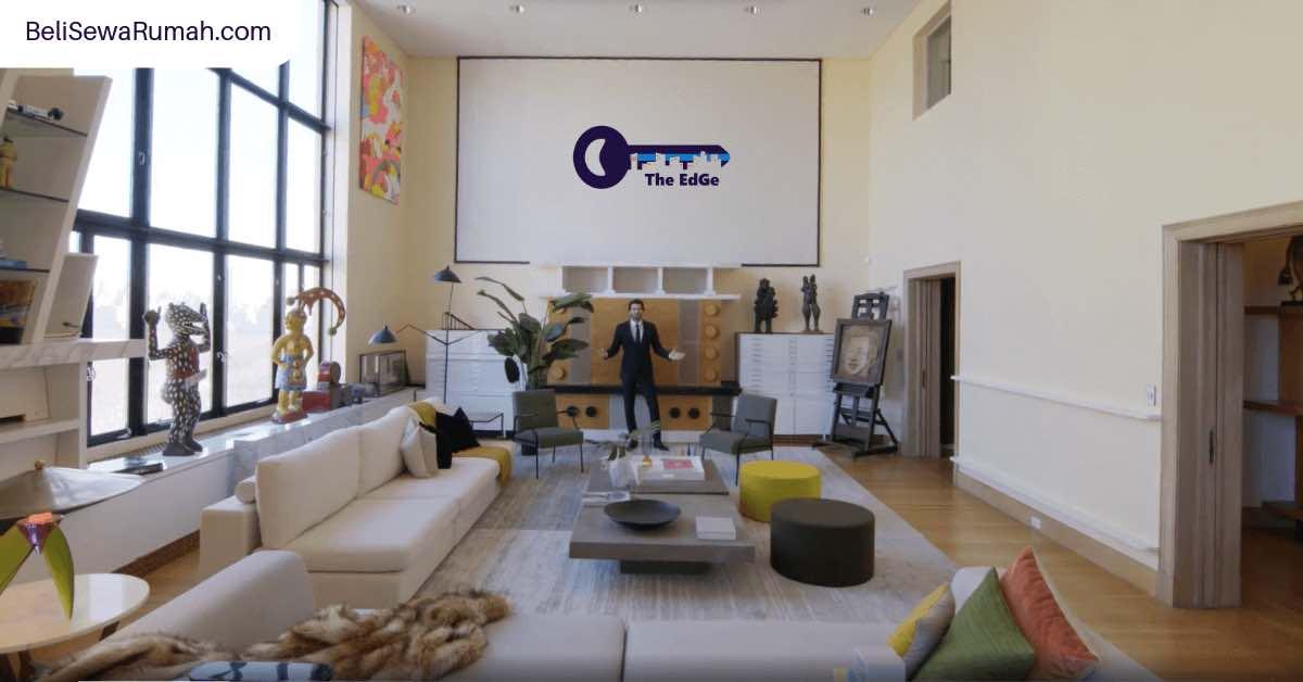 Inspirasi Desain Rumah Dari Unit Apartemen Super Besar - BeliSewaRumah