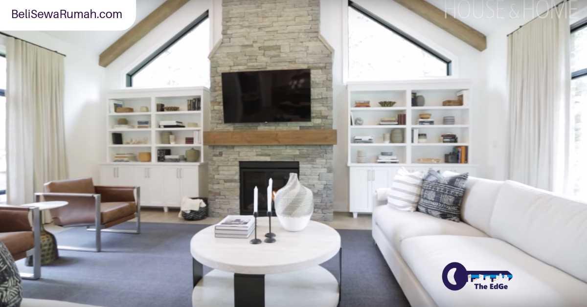 Inspirasi Desain Dari Tur Rumah Bergaya Country Modern Yang Mewah - BeliSewaRumah