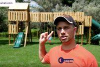 Seorang Ayah Membangun Set Ayunan Keren Ini Untuk Anaknya - BeliSewaRumah