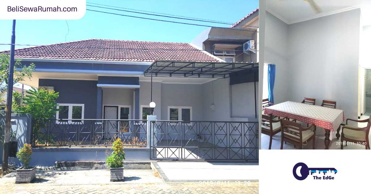 Jual Rumah Cantik Lokasi Strategis Taman Pondok Indah Wiyung Surabaya (2) - BeliSewaRumah