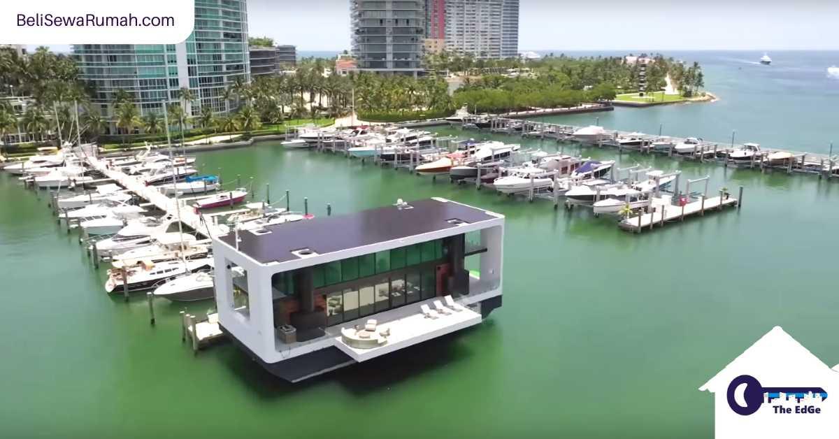 Mengintip Rumah Besar Terapung Ini di Miami - BeliSewaRumah