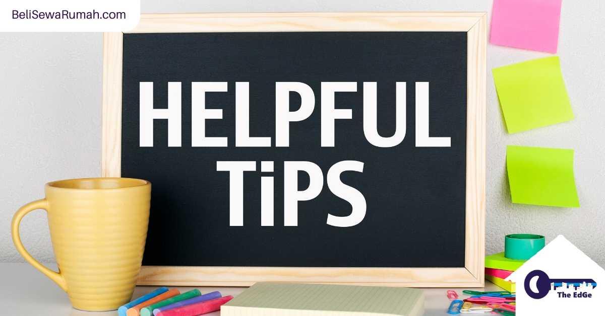 24 Tips Berguna Untuk Rumah - BeliSewaRumah
