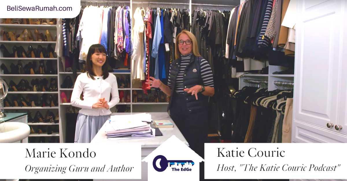 Marie Kondo Menolong Katie Couric Merapikan Rumah - BeliSewaRumah