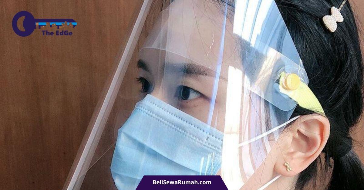 Membuat Sendiri Pelindung Wajah Tambahan Masker - BeliSewaRumah
