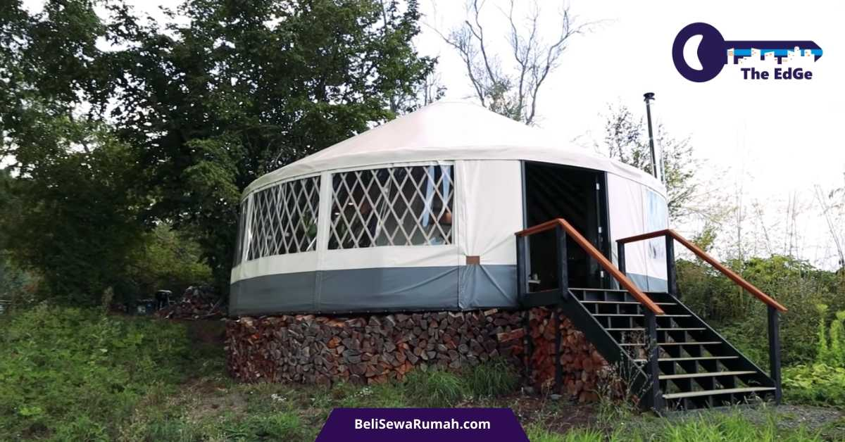 Membangun Yurt Modern_ Tenda Bundar Yang Luar Biasa - BeliSewaRumah