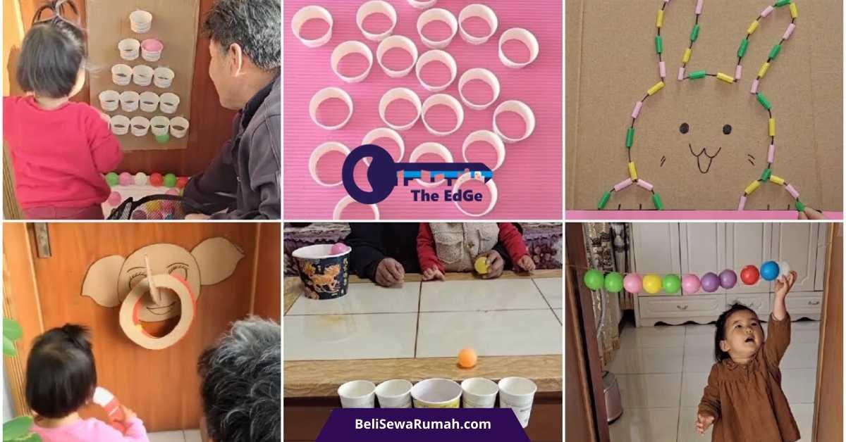 10 Permainan Seru Dari Barang Bekas di Rumah - BeliSewaRumah