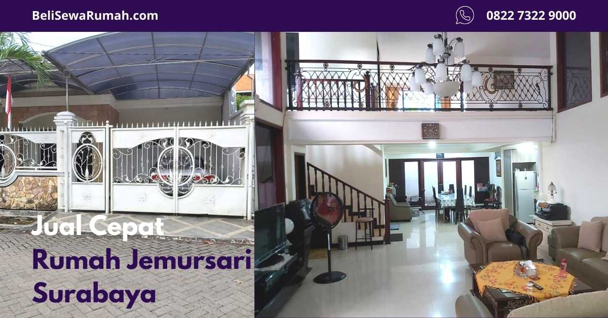 Jual Cepat Rumah Jemursari Surabaya - Listing - BeliSewaRumah - website image