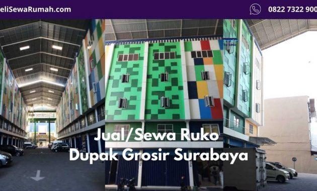 Ruko Dupak Grosir Surabaya - Primary Listing - BeliSewaRumah - website image
