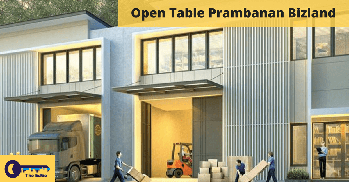 Open Table Prambanan Bizland - BeliSewaRumah