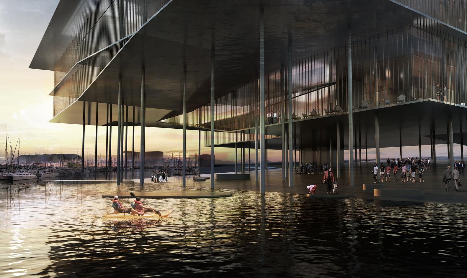 Desain Kantor Situs Warisan Dunia UNESCO di Laut Wadden - 1 - ArchDaily - BeliSewaRumah