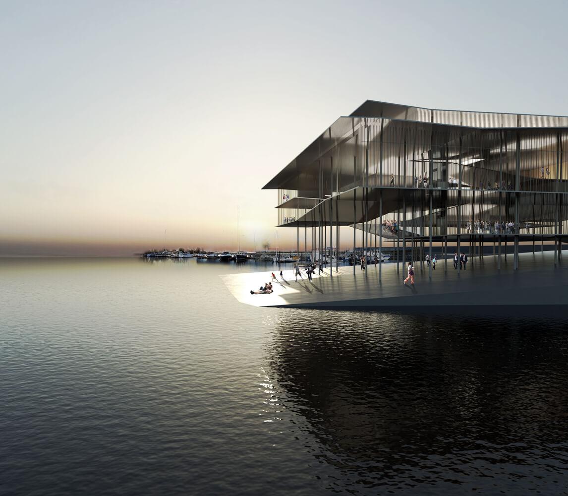 Desain Kantor Situs Warisan Dunia UNESCO di Laut Wadden - 2 - ArchDaily - BeliSewaRumah