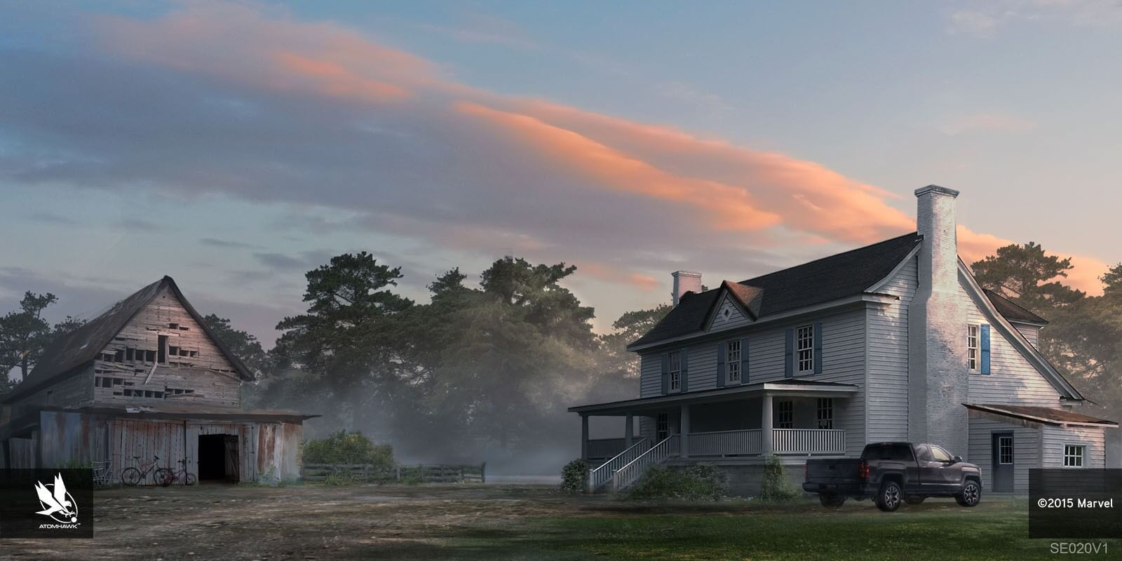 Rumah Pedesaan Peternakan Hawkeye - BeliSewaRumah