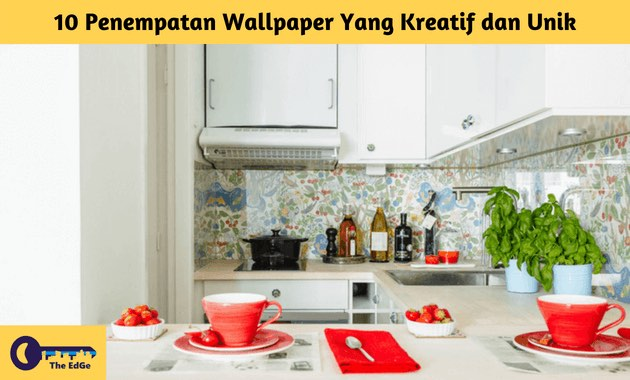 10 Penempatan Wallpaper Yang Kreatif dan Unik - BeliSewaRumah