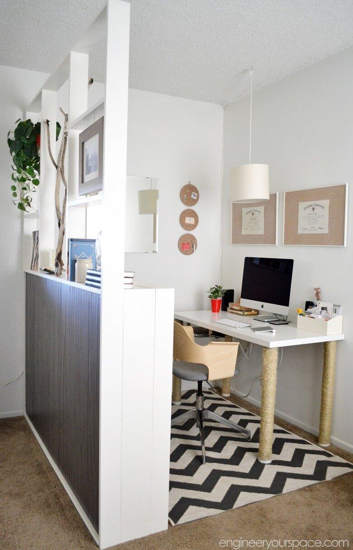 Rapikan Meja Jadi Sederhana - 7 Ide Ruang Kerja Produktif di Rumah - BeliSewaRumah