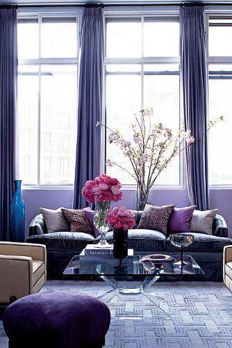 Ruang Keluarga - Petal Purple - BeliSewaRumah