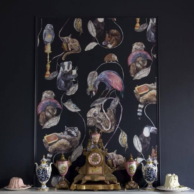 Wallpaper Dengan Pigura - BeliSewaRumah