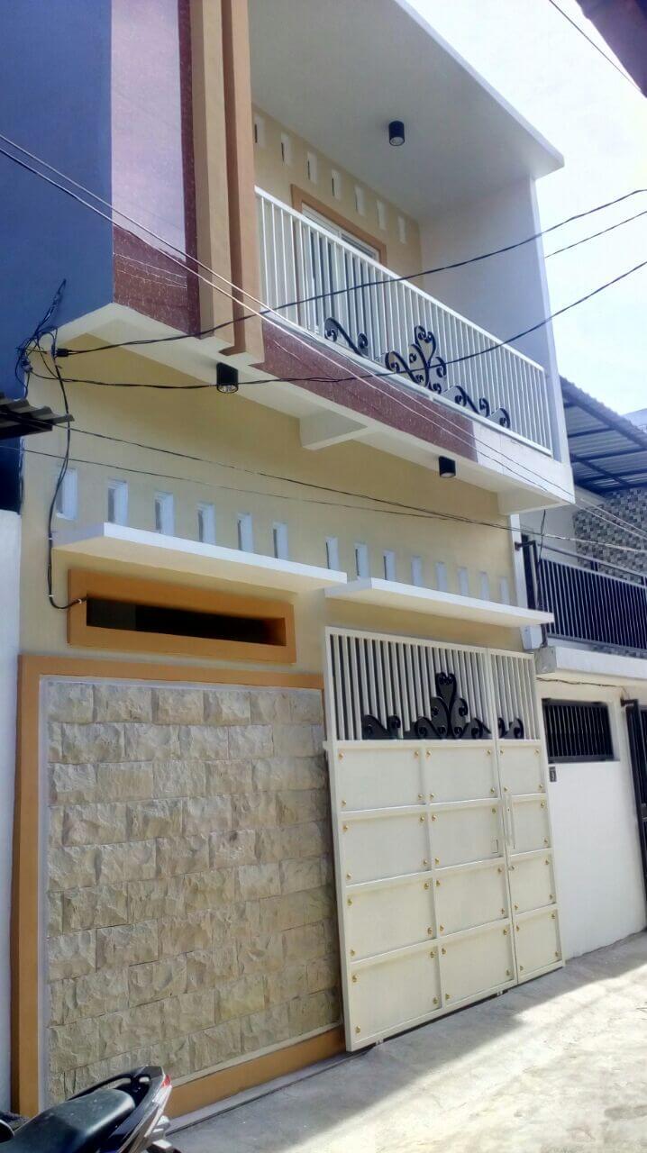 Jual Murah Rumah Baru Kalijudan Barat 3 Nomor 9 Surabaya - depan