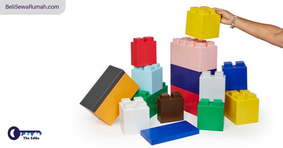 Dekorasi Apartemen dari Lego Dewasa Ini - BeliSewaRumah