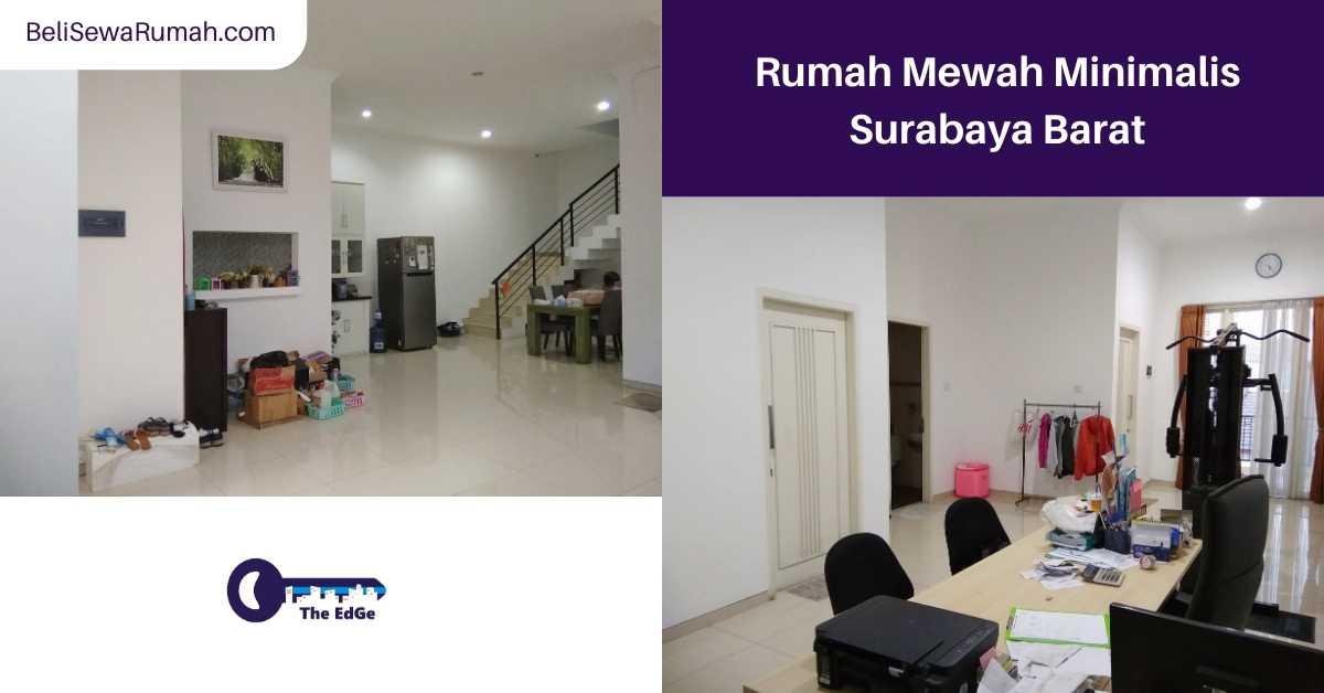 Jual Rumah Mewah Minimalis Wiyung Surabaya - BeliSewaRumah (1)