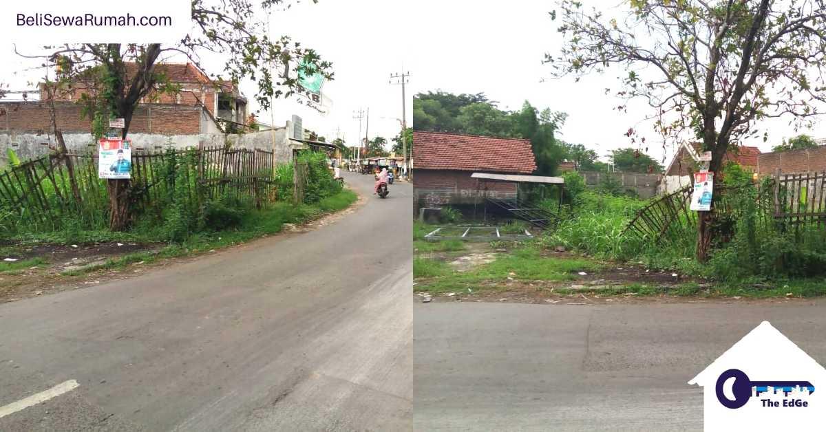 Jual Tanah Nol Jalan Raya Kendung Surabaya - BeliSewaRumah