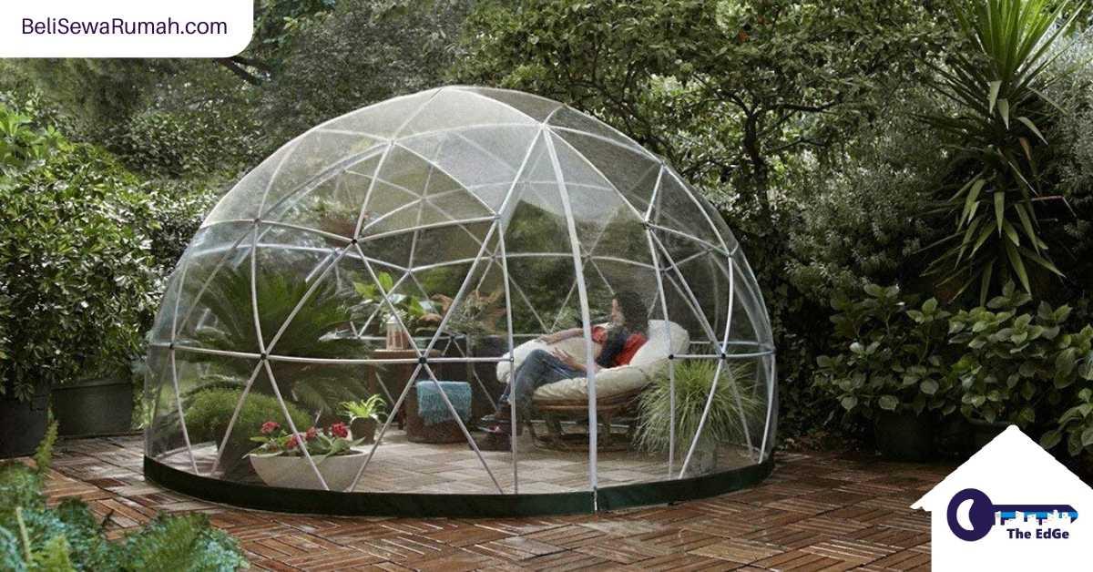 Rekreasi di Rumah Dengan Garden Dome Igloo Ini - BeliSewaRumah
