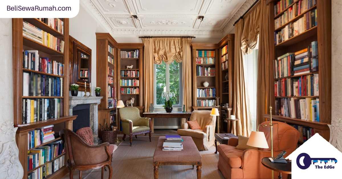 Bangun Perpustakaan di Rumah dan Temukan Apa Hasrat Anda Yang Terdalam - BeliSewaRumah