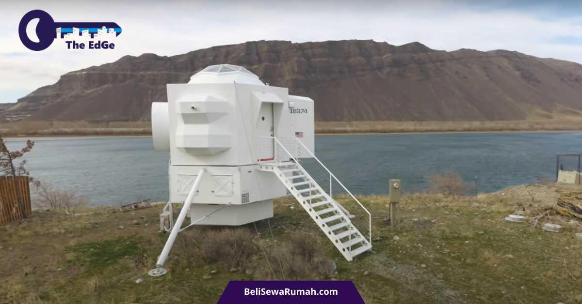 Intip Rumah Unik Lunar Lander - BeliSewaRumah