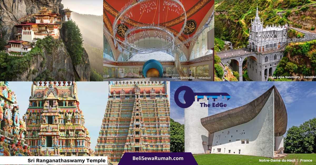 Mengagumi 21 Tempat Ibadah Terindah di Dunia - BeliSewaRumah