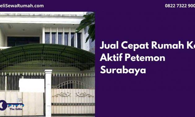 Jual Cepat Rumah Kos Aktif Petemon Surabaya - BeliSewaRumah