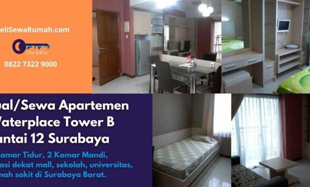 JualSewa Apartemen Waterplace Tower B Lantai 12 Surabaya - BeliSewaRumah
