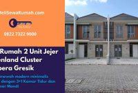 Jual Rumah 2 Unit Jejer Greenland Cluster Garbera Gresik - BeliSewaRumah