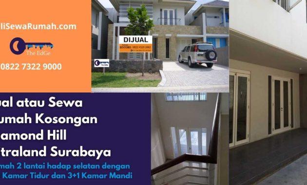Jual atau Sewa Rumah Kosongan Diamond Hill Citraland Surabaya - BeliSewaRumah