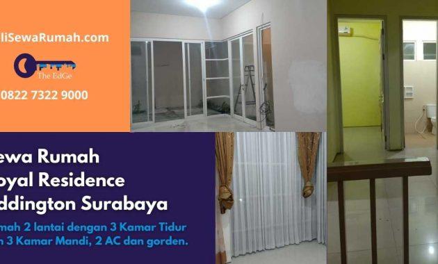 Sewa Rumah Royal Residence Addington Surabaya - BeliSewaRumah