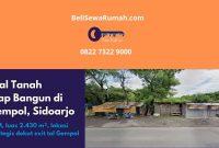Jual Tanah Siap Bangun di Gempol Sidoarjo - BeliSewaRumah (1)