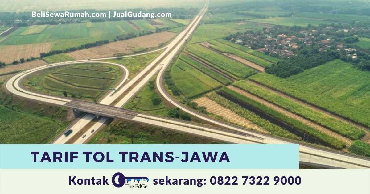 Tarif Tol Trans-Jawa - The EdGe - img