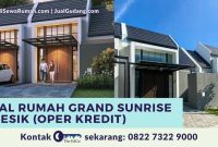 Jual Rumah Grand Sunrise Gresik (Oper Kredit) - The EdGe
